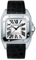 de Cartier Santos 100 Watch W20106X8