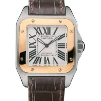 de Cartier Santos 100 Watch W20107X7