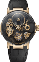 Ulysse Nardin Executive Tourbillon Free Wheel 1766-176LE/CARB