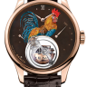 Zenith Academy Christophe Colomb Fire Rooster 18.2215.8804/72.C713