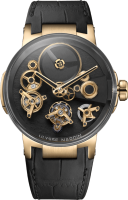 Ulysse Nardin Executive Dual Time Tourbillon Free Wheel 1766-176