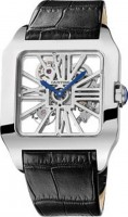 de Cartier Santos–Dumont Skeleton Watch W2020033