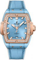 Hublot Spirit of Big Bang Light Blue Ceramic King Gold Diamonds 665.EO.891L.LR.1204