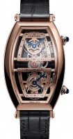 Cartier Tonneau Skeleton Dual Time WHTN0005
