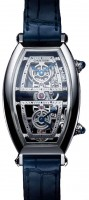 Cartier Prive Tonneau Skeleton Dual Time WHTN0006