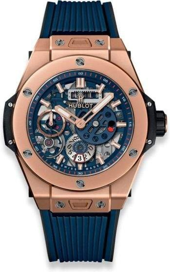 Hublot Big Band Meca 10 King Gold Blue 414.oi.5123.rx