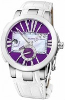 Ulysse Nardin Functional Dual Time Executive Lady 243-10/30-07