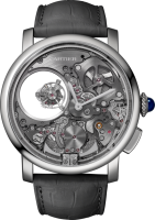 Rotonde de Cartier Minute Repeater Mysterious Double Tourbillon Watch WHRO0023