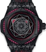Hublot Big Band Sang Bleu All Black Red 465.cs.1119.vr.1202.mxm18