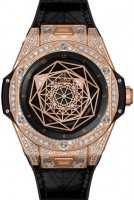 Hublot Big Band Sang Bleu King Gold Pave 465.os.1118.vr.1704.mxm18