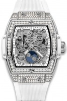 Hublot Spirit of Big Bang Moonphase Titanium White Pave 42 mm 647.NE.2070.RW.1604