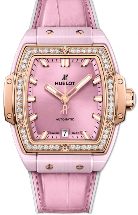 Hublot Spirit of Big Bang Pink Ceramic King Gold Diamonds 665.RO.891P.LR.1204