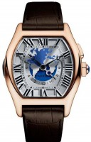 Cartier Tortue Watch Multiple Time Zones W1580049