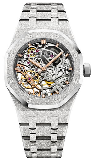 Audemars Piguet Royal Oak Double Balance Wheel Openworked 115466BC.GG.1259BC.01