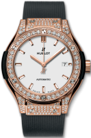 Hublot Classic Fusion King Gold Opalin Pave 33 mm 582.OX.2610.RX.1704