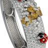 Cartier Creative Jeweled Watches Bestiaire Watches Secret Watch With Ladybug Design HPI00538