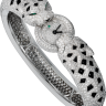 Cartier Creative Jeweled Watches Bestiaire Watches Two Panther Head Motif Watch HPI00437