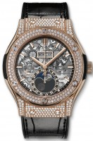 Hublot Classic Fusion Aerofusion Moonphase King Gold Pave 45 mm 517.OX.0180.LR.1704