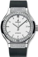 Hublot Classic Fusion Titanium Opalin Diamonds 33 mm 582.NX.2610.RX.1204