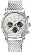 Breitling Transocean Chronograph ab015253/g724-ss