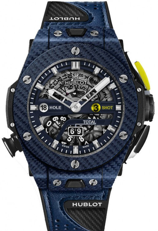 Hublot Big Bang Unico Golf Blue Carbon 416.YL.5120.VR