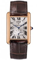 Cartier Tank Louis Cartier Watch With Calendar Aperture And Power Reserve W1560003