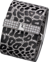 Cartier Creative Jeweled Watches High Jewellery Panthere Imperiale Visible Hour Watch HPI00783