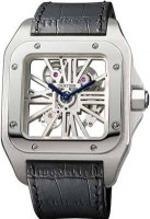 de Cartier Santos 100 Skeleton Watch W2020018