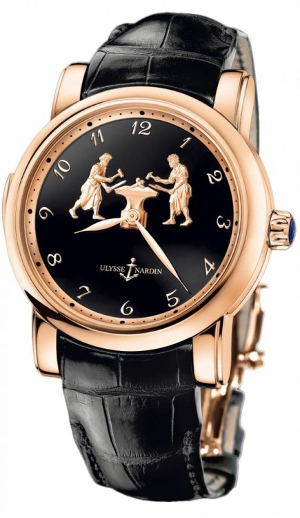 Ulysse Nardin Exceptional Forgerons Minute Repeater 716-61/E2