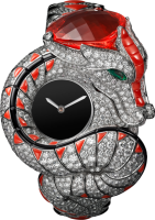 Cartier Creative Jeweled Watches High Jewelry Dragon Mysterieux Watch HPI00990