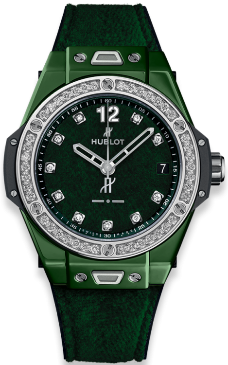 Hublot Big Bang One Click Italia Independent Dark Green Velvet 39 mm 465.GX.277G.NR.1204.ITI18