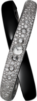 Cartier Creative Jeweled Watches High Jewelry Rings Of Saturn Decor Visible Hour Watch HPI01031