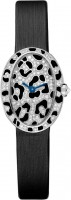 Cartier Creative Jeweled Mini Baignoire panther spots watch HPI00703