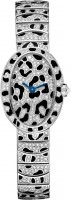 Cartier Creative Jeweled Mini Baignoire panther spots watch HPI00704