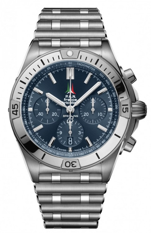 Breitling Chronomat B01 42 Frecce Tricolori Limited Edition AB01344A1C1A1